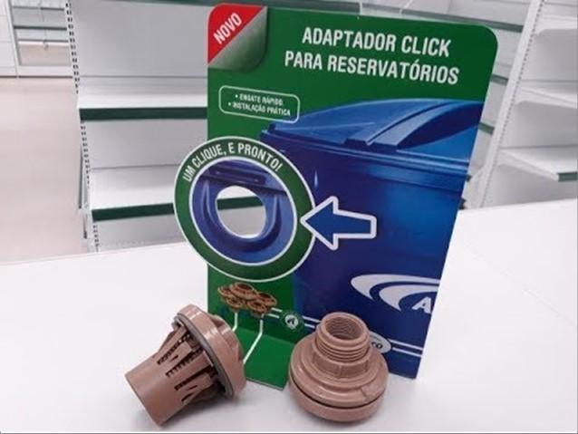 ADAPTADOR AMANCO C/ FLANGE 20MM CLICK