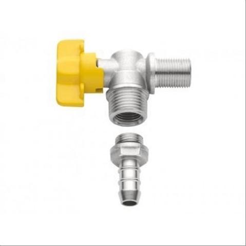 REGISTRO BLUKIT 180261 ESF P/GAS 1/2X1/2 C/ESP 3/8