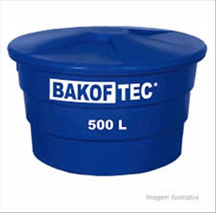 CAIXA BAKOF TEC D´AGUA  500LT C/ TAMPA