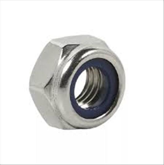 PORCA NUTINOX INOX C/NYLON M8-1.25 A2