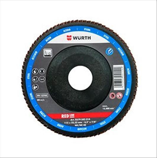 DISCO WURTH LIXA FLAP 40 115X22.23MM V-MAX