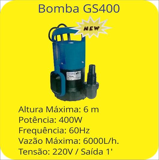 BOMBA DYMAR SUB WMSH40/GS-400 0,5HP AGU LIMPA 220V