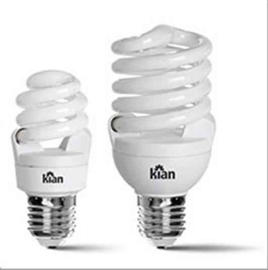 LAMPADA KIAN FLUOR ESP 25W 127V 2.7K