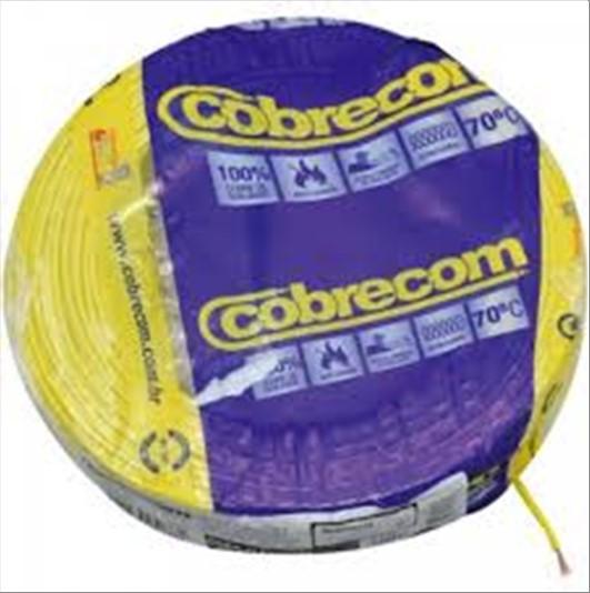 FIO COBRECOM CABO FLEXIVEL   1.5MM ROLO 100M AM