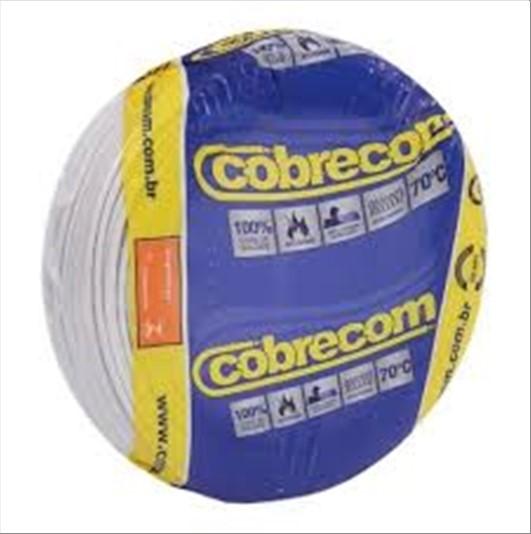 FIO COBRECOM CABO FLEXIVEL   1.5MM ROLO 100M BR