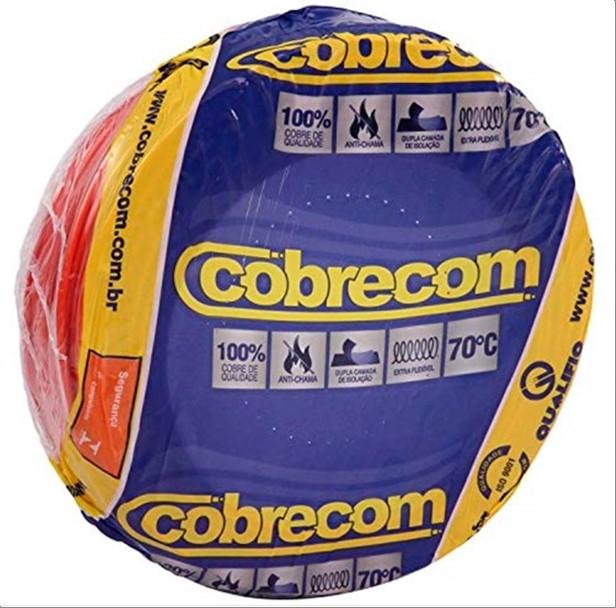 FIO COBRECOM CABO FLEXIVEL   1.5MM ROLO 100M VM