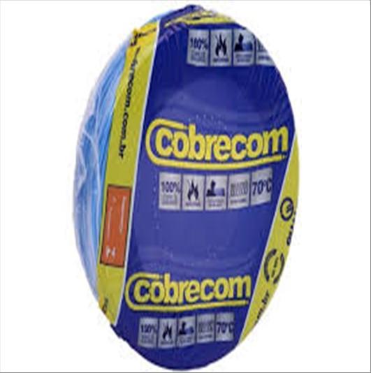 FIO COBRECOM CABO FLEXIVEL   2.5MM ROLO 100M AZ