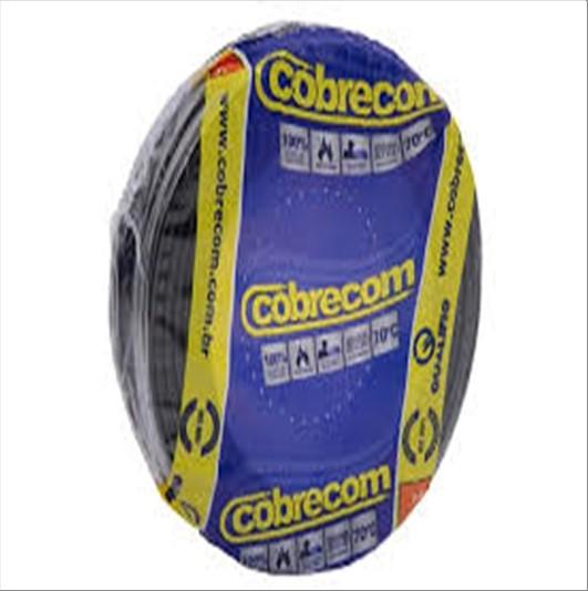 FIO COBRECOM CABO FLEXIVEL   2.5MM ROLO 100M PT