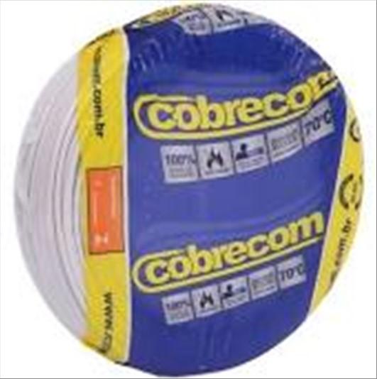 FIO COBRECOM CABO FLEXIVEL   2.5MM ROLO 100M BC