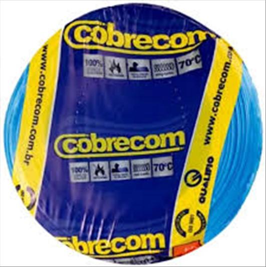 FIO COBRECOM CABO FLEXIVEL   1.5MM ROLO 100M AZ