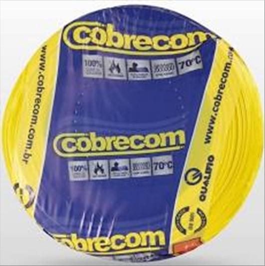 FIO COBRECOM CABO FLEXIVEL   2.5MM ROLO 100M AM