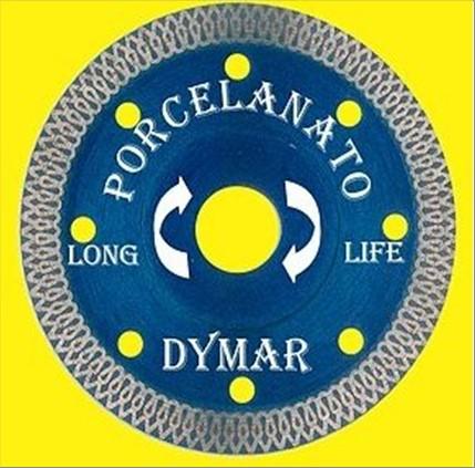 DISCO DYMAR DIAM PORCELANATO 105X1.4X10X20-A AZUL