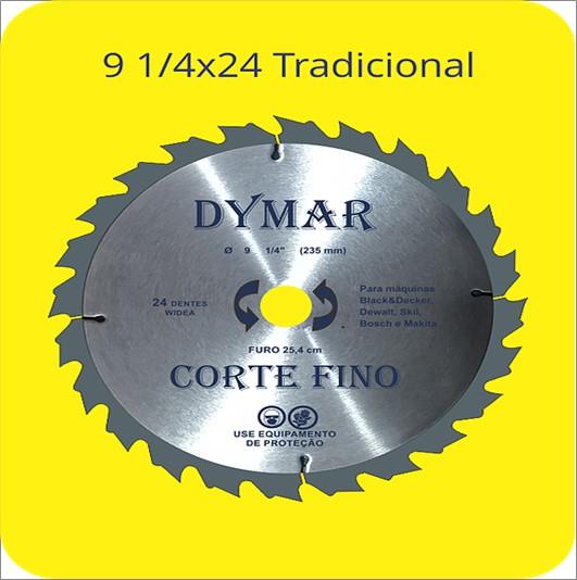 SERRA DYMAR CIRCULAR WIDIA 91/4X24D