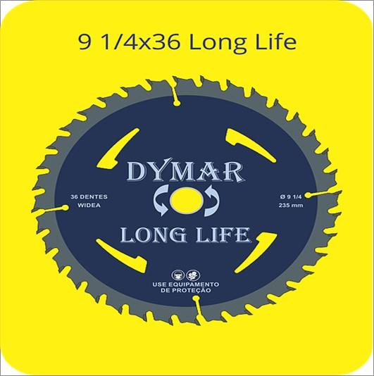 SERRA DYMAR CIRCULAR WIDIA 91/4X36D LONG LIFE