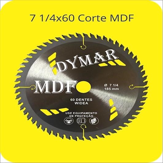 SERRA DYMAR CIRCULAR MDF 7 1/4 X 60D 185MM