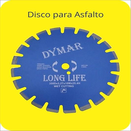 DISCO DYMAR DIAMANT 350X10X25 ASFALTO 14