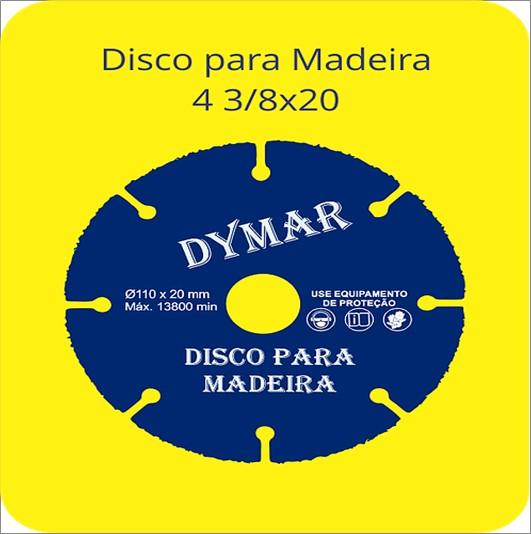 DISCO DYMAR MADEIRA 43/8