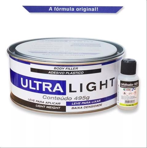 MASSA MAXI RUBBER PLASTICA ULTRA LIGHT C/CATALIS