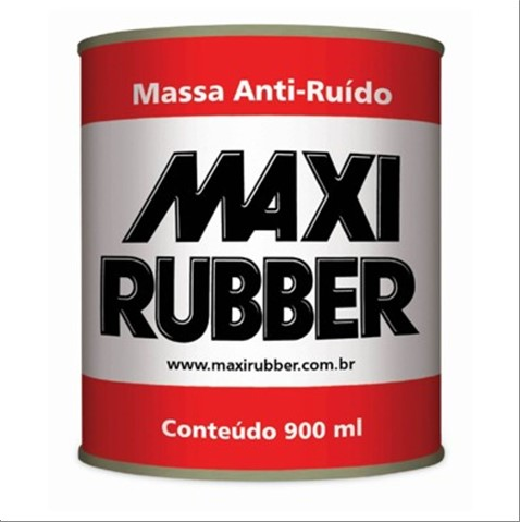 MASSA MAXI RUBBER ANTI RUIDO 900ML