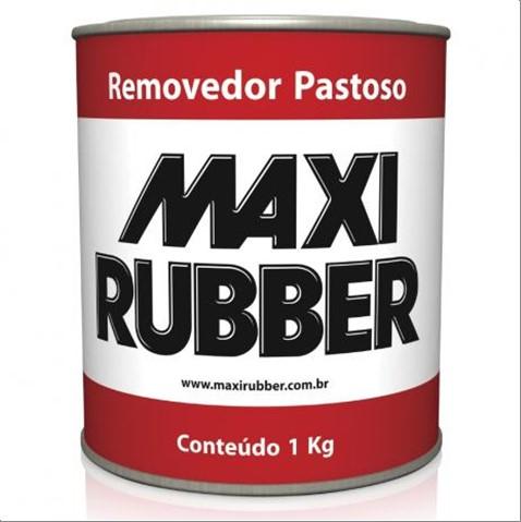 REMOVEDOR MAXI RUBBER PASTOSO 1KG