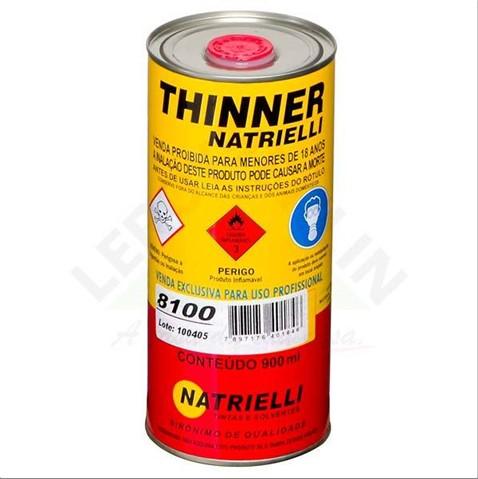 THINNER NATRIELLI 8100 900ML