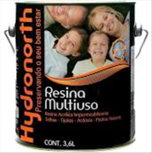 RESINA HYDRONORTH COLOR CERAMICA TELHA 3600ML