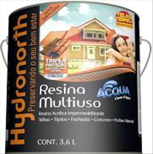 RESINA HYDRONORTH ACQUA INCOLOR 3600ML