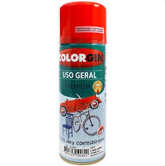 ESMALTE COLORGIN 55061 USO GERAL  VERM 280G