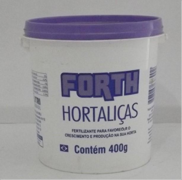 FERTILIZANTE FORTH HORTALICAS 400G