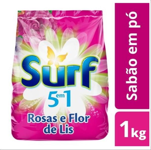 SABAO PO SURF 1KG FLOR LIZ
