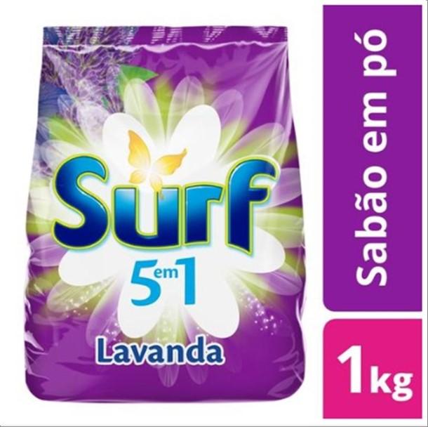 SABAO PO SURF 1KG LAVANDA