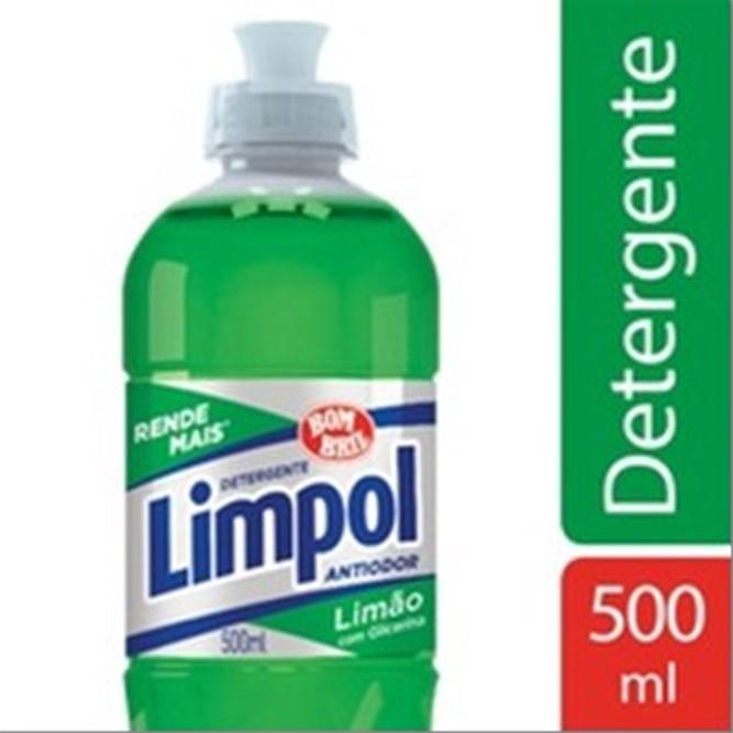 DETERGENTE BOM BRIL LIMPOL LIMAO 500ML