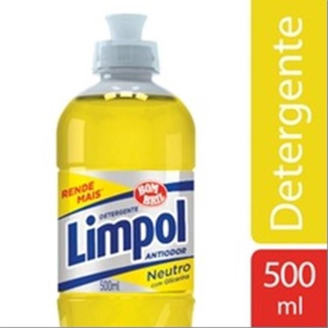DETERGENTE BOM BRIL LIMPOL NEUTRO 500ML
