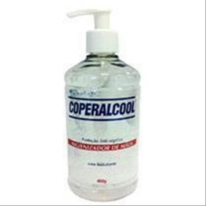 ALCOOL COPERALCOOL GEL HIGIENIZADOR DE MAOS 400GR