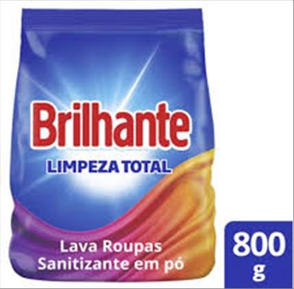 SABAO PO BRILHANTE LIMPEZA TOTAL 800G