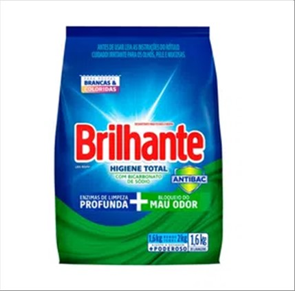 SABAO PO BRILHANTE HIGIENE TOTAL 1.6KG