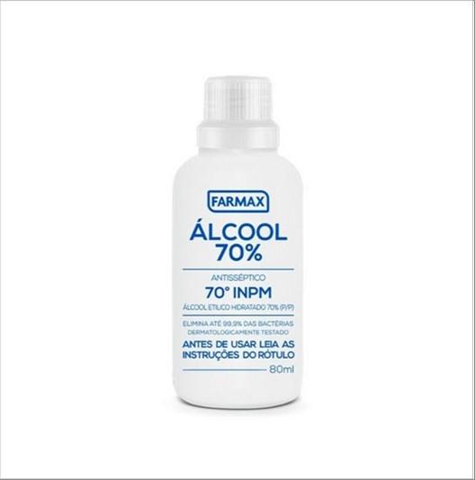 ALCOOL FARMAX 70 COSMETICO TEMP. 100ML