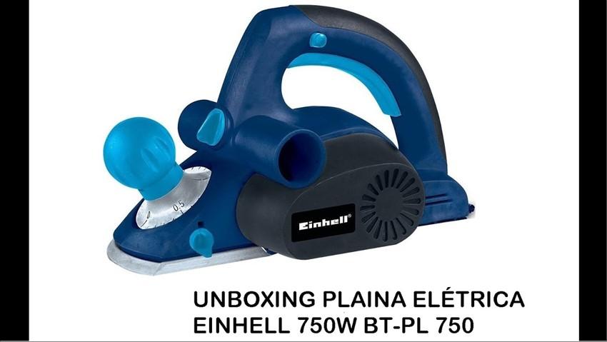 PLAINA EINHELL BT-PL 750 ELETRICA 220V