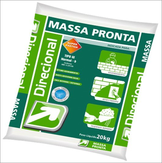 ARGAMASSA DIRECIONAL MASSA PRONTA 5KG