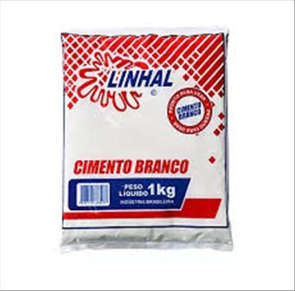 CIMENTO LINHAL BRANCO 1KG